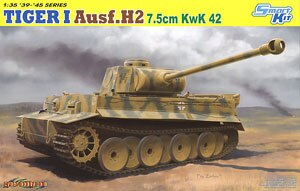 "1/35 modelo de escala de dragón 6683 6 camión pesado Tigre tipo H2 ""7,5 cm KwK.42"""
