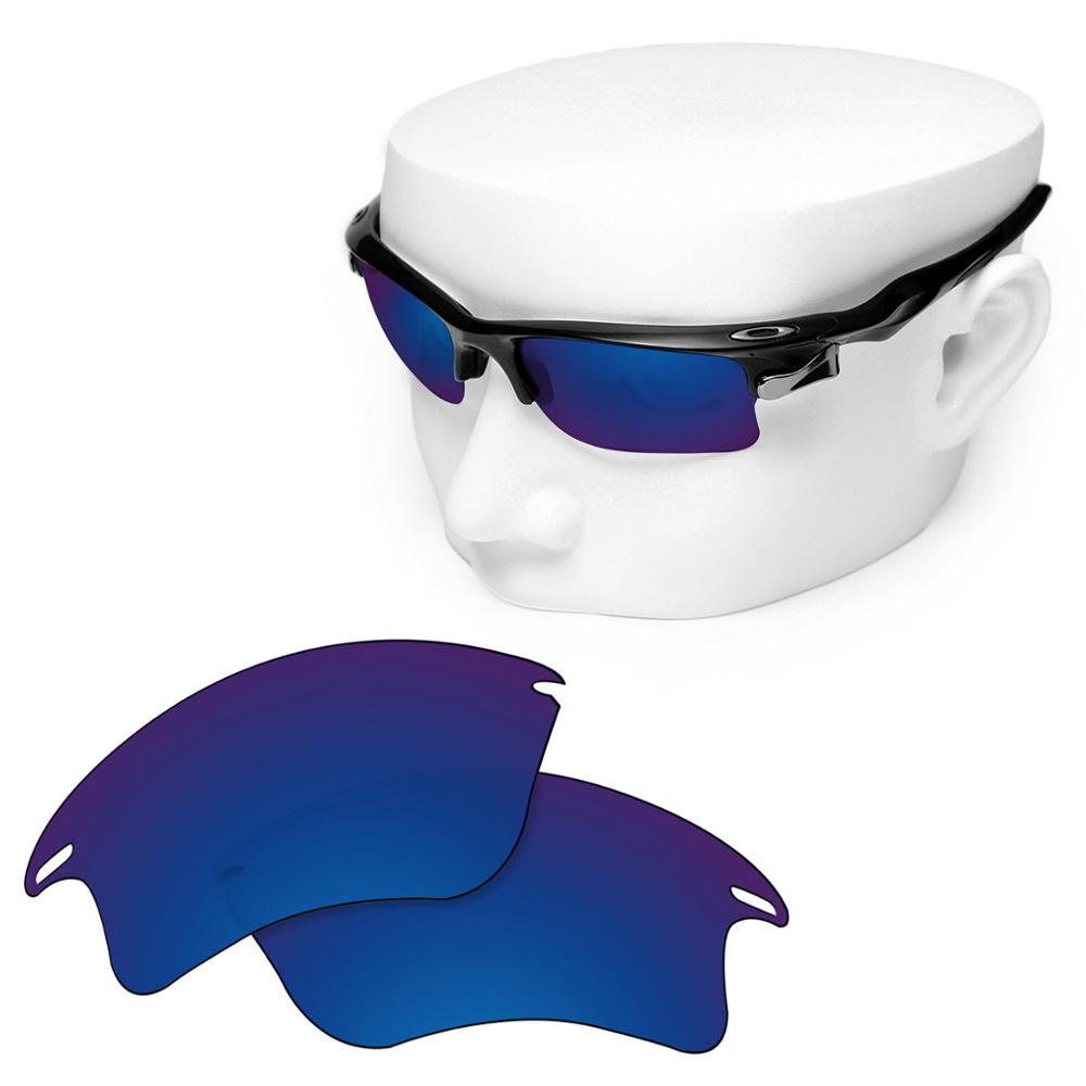OOWLIT Polarized Replacement Lenses of Deep Water for-Oakley Fast Jacket XL OO9156 Sunglasses