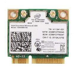 Новыа двухдиапазонная Wireless-N 7260 7260HMWAN беспроводная карта Wi-Fi + Bluetooth 4.0, размер - HalfMini PCI-E.