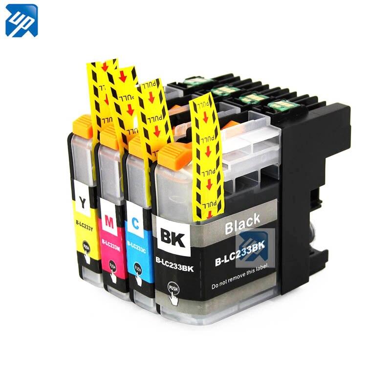 5PK LC233 233XL cartuchos de tinta compatibles para hermano DCP-J4120DW MFC-J4620DW MFC-J5320DW MFC-J5720DW impresora de tinta