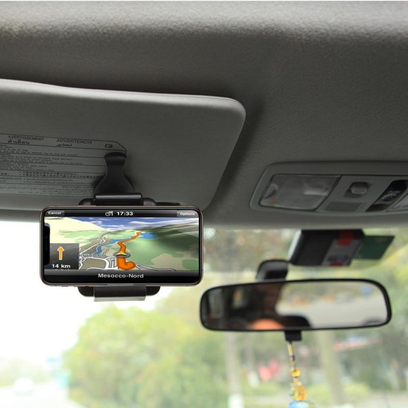 Accesorios de coche soporte de teléfono parasol soporte de coche soporte de teléfono coche pantalla solar de navegación