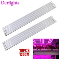 10pcs 120cm led grow light full spectrum t8 tube led plant growing lamp indoor hydroponic greenhouse tent phytolamp for plants