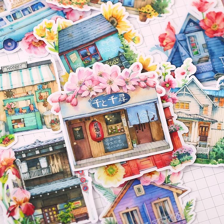 15 шт. милые сказочные Детские Веселые бумажные наклейки домашние наклейки для книг на ноутбук/декоративные Скрапбукинг/Сделай сам