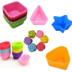 Especializado molde de silicone macio doces muffin copo bolo de silicone cakecup ferramentas ferramenta de cozimento acessórios da cozinha