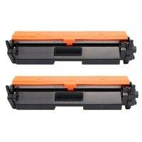 2 Pack Toner Cartridge CF230A 2K High Yield Compatible HP LaserJet M 203d 203dn 203dw MFP 227fdn 227fdw Printer Cartridge