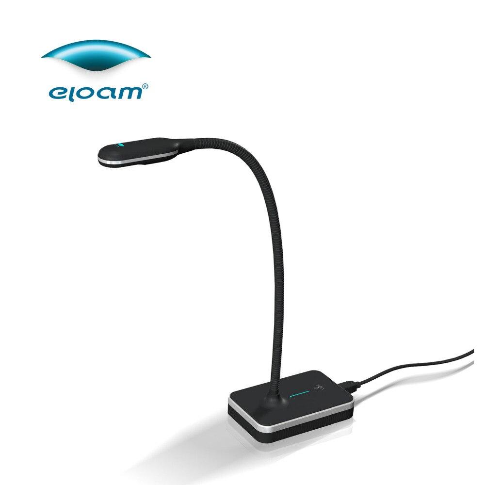 Eloam VH800AF de documento portátil Cámara 5,0 MP A4 de alta velocidad escáner visualizador de enfoque automático OCR PDF