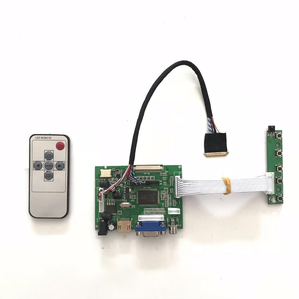 Free Shipping RTD2660 VGA AV HDMI LCD Controller Board DIY Kit for B156XW02 V0 V3 V7 15.6 inch 1366x768 LVDS LCD panel