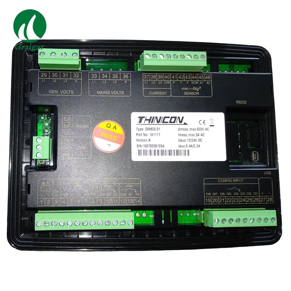 New Harsen Generator controller GU820-001 Genset Controller Original 4.3 Inch TFT LCD Color Display