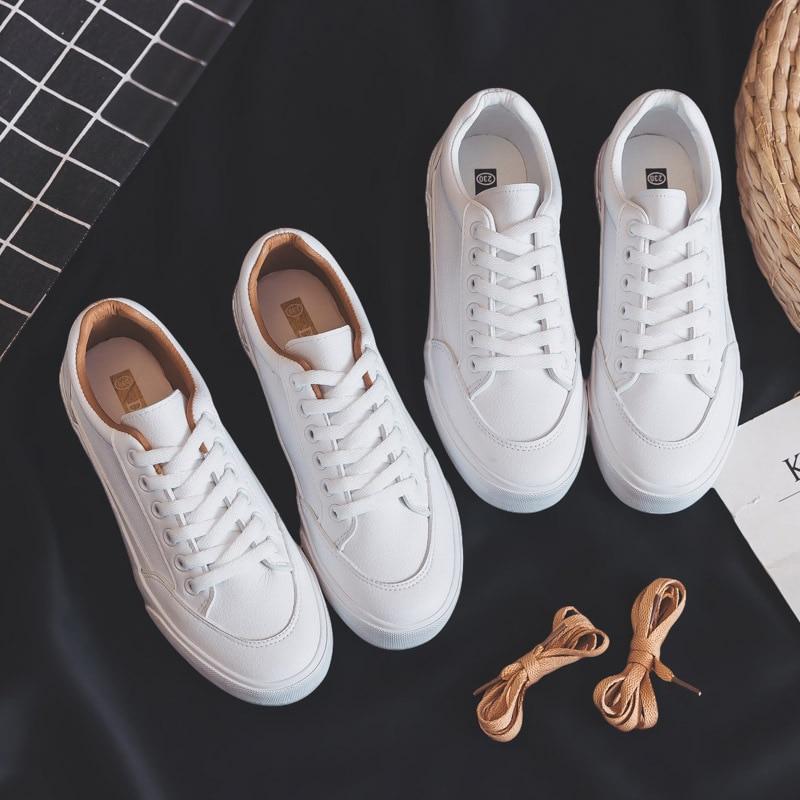 النساء أحذية رياضية أحذية امرأة الموضة الربيع الاتجاه أحذية رياضية غير رسمية للنساء جديد الراحة الأبيض مبركن أحذية منصة
