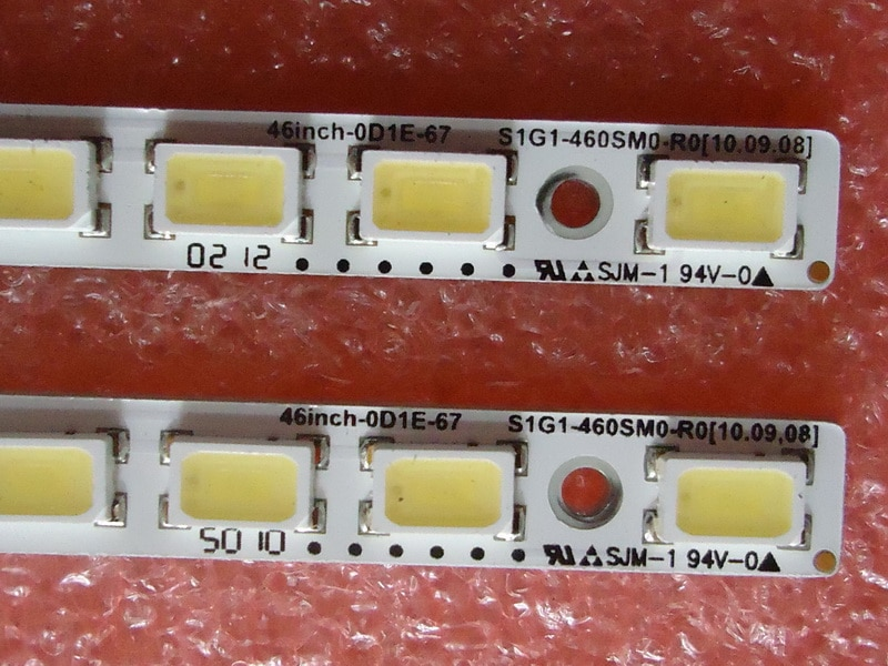 "2PCS=67LEDS 522MM 46"" S1G1-460SM0-R0 For Sony LJ64-02873A LJ64-02872A LED Strip"