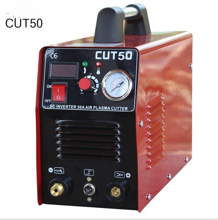 آلة قطع بلازما الهواء ، 220 فولت/110 فولت أو 220 فولت تيار مستمر ، محول الطاقة Mosfet 50A ، أدوات القطع ، آلة القطع