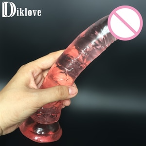 21cm big long thick dildo,fake Penis dong realistic artificial cock sex products sex toy for woman