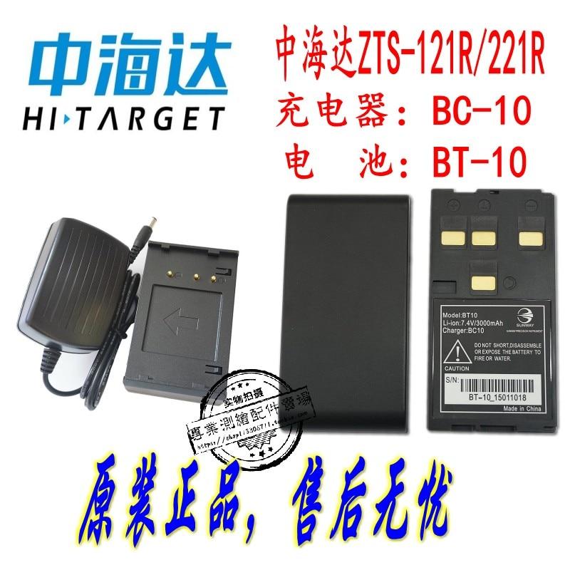 Zhonda / Huaxing ZTS-121R/221R إجمالي محطة BT-10 البطارية/Huaxing مجموع محطة BC10 شاحن