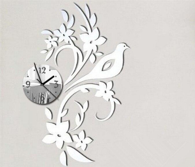 Nueva oferta 2019 De relojes Reloj De Pared Reloj De diseño moderno Reloj Vintage De cuarzo grande decorativo aguja para sala De estar