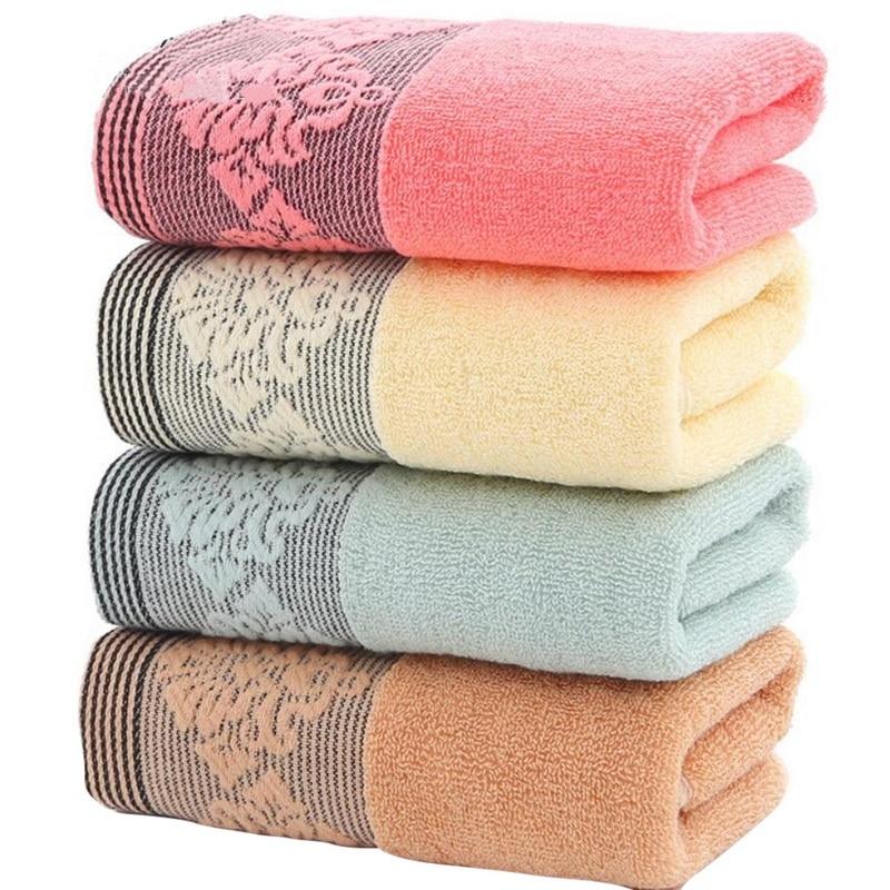 Urijk 4 Farben Starke Hohe Absorbent Gesicht Handtuch 100% Baumwolle Feste Bad Handtuch Strand Handtuch Für Erwachsene Schnell Trockenen, Weichen