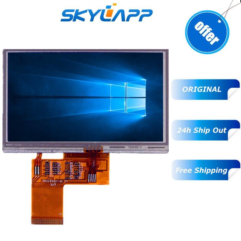 Original 4.3 polegadas LCD screen display Completo 45 pinos LB043WQ2-TD01 Tela LCD TFT WQVGA 480*272 (RGB) tela LCD Frete grátis