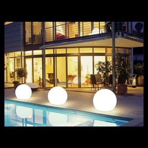 Remote control Rechargeable LED Night Lamp Outdoor Courtyard Decoration Waterproof Pool Floating LED Globe Lamp Ball Lighting