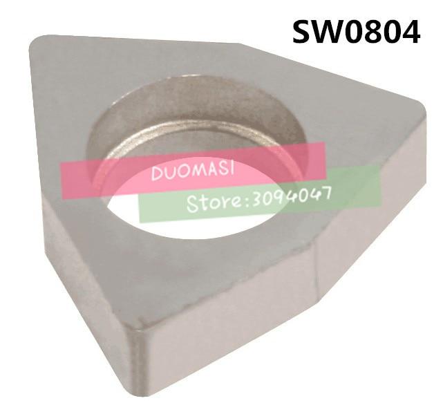 10 PCS SW0804 Calço de liga Dura titular torno ferramenta acessórios, Adequado para MWLNR/WWLNR, INSERÇÃO É WNMG0804