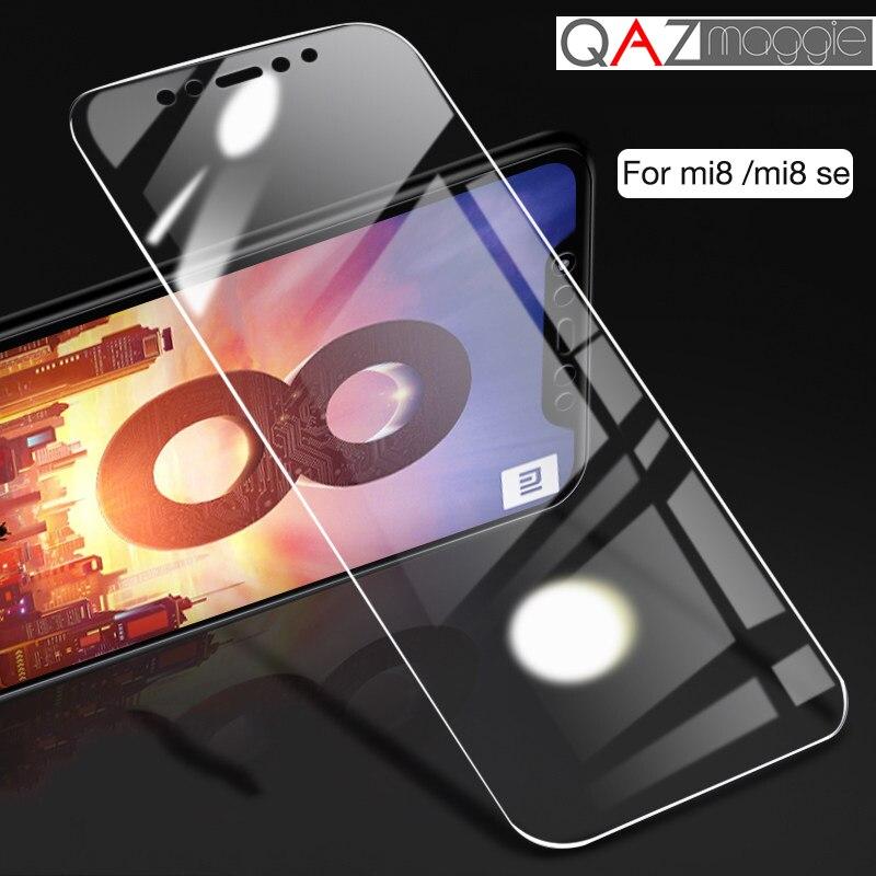 Xiaomi mi 8 Lite cristal templado xiaomi mi 8 vidrio transparente HD película frontal a prueba de vidrio para mi 3 mi 4 mi 5 mi 6 mi 8 SE Explorer