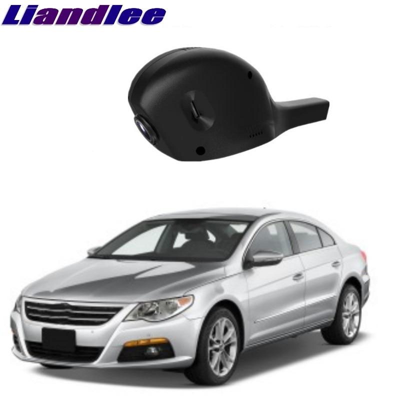Liandlee для Volkswagen VW CC низкая конфигурация 3C 35 2008 ~ 2015 автомобильный дорожный рекордер WiFi DVR Dash камера для вождения видео рекордер