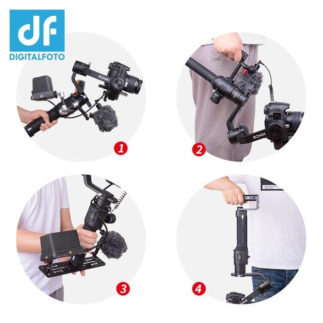 DJI Ronin SC/ S Accessories Multi-angle expansion equipment 1/4 3/8 Thread mount LED monitor crane 2 Moza air2 AK2000 AK4000