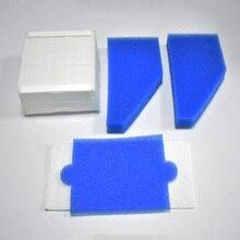 1 ensemble filtre en mousse filtre hepa pour Thomas 787241, 787 241, 99 remplacement de filtre de nettoyage de la poussière pièces de rechange filtre aspirateur