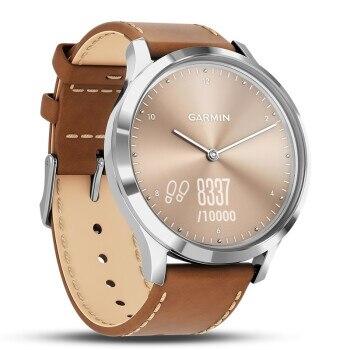 Garmin vivomove HR Luxury full steel Watch women Business Casual digital Wrist Watches Leather waterproof Relogio sports watch