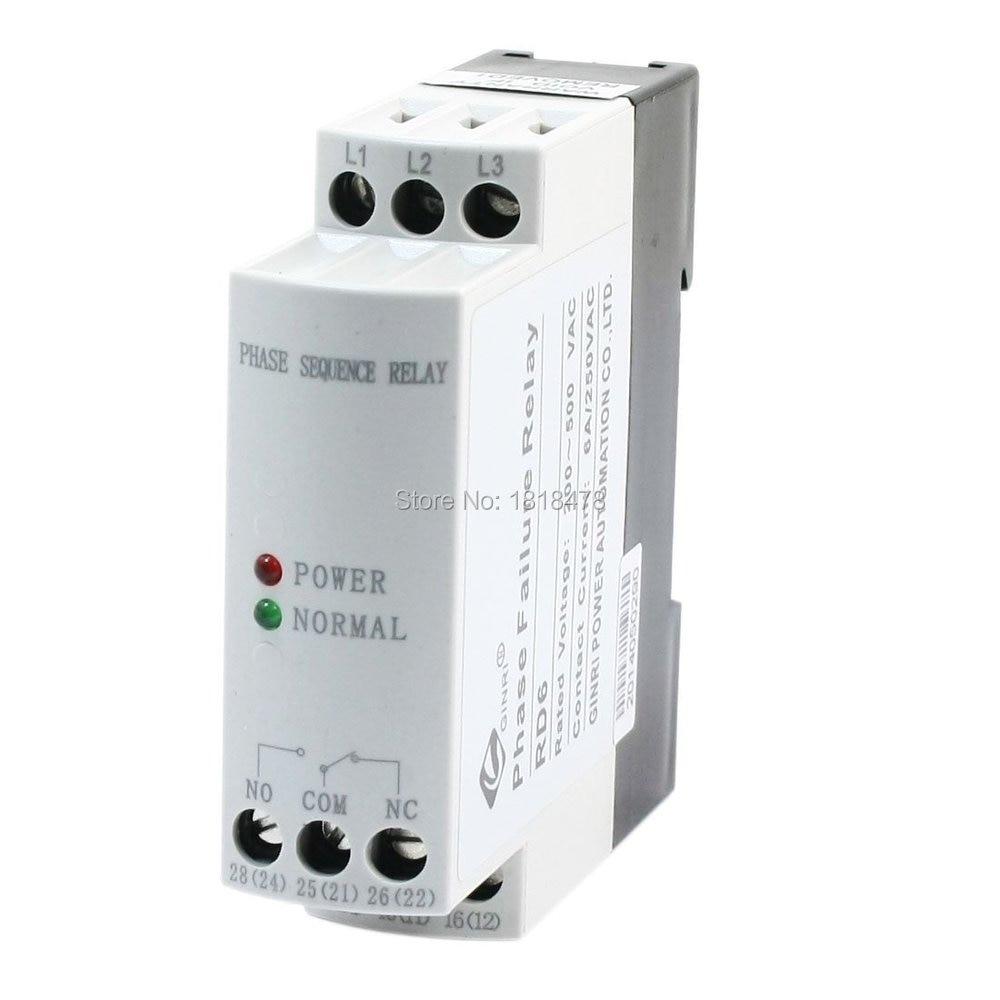 JVRD AC 200 V-500 V фазовый контроль последовательности сбоя защитное реле