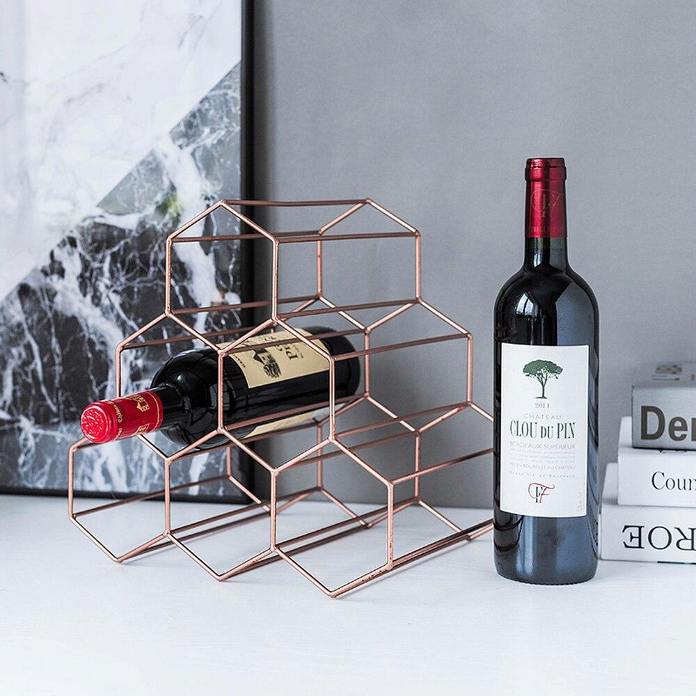 Moderno e minimalista europeu criativo ferro rack de vinho decoração sala estar casa exibição rack vinho prateleira treliça lm3121422