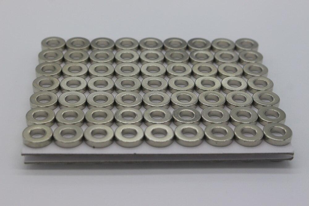 (10 piezas) codificador magnético AS5048A AS5600 motor cardán fuerte anillo magnético estándar