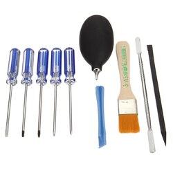 Venda quente ferramentas de reparo chaves de fenda conjunto kit precisão desmontagem ferramenta para ps4/xbox um jogo console ferramentas abertura