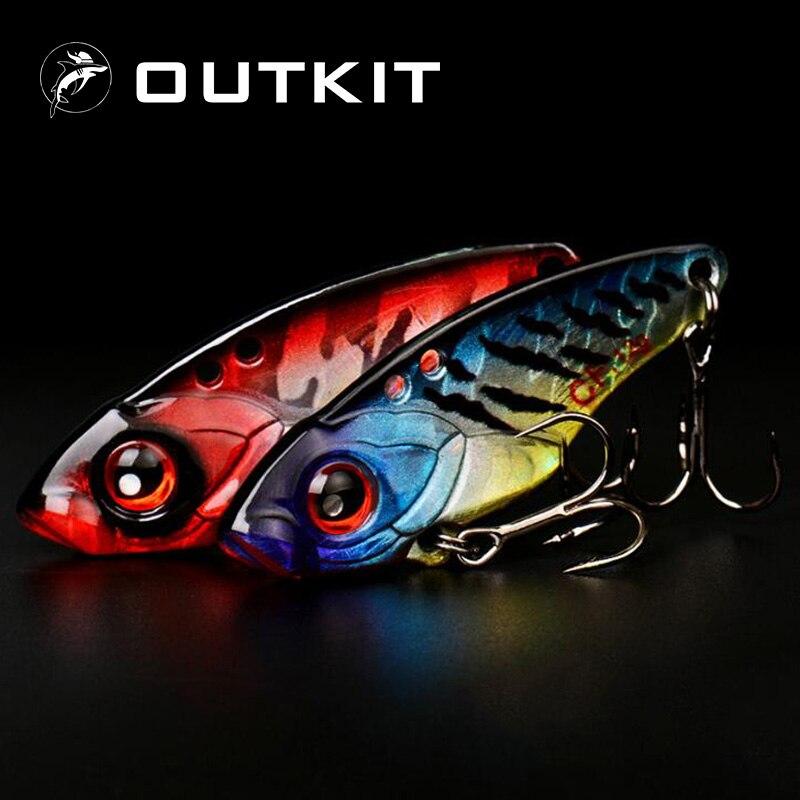OUTKIT 1 шт., 40 мм, 6 г, 9 г, 12 г, металлическая блесна, приманка для рыбалки, приманка для ловли басов, приманка с 2 крючками, приманка, свинцовая приманка для рыбы
