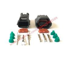 Connecteurs de fil 3 broches 7283-8730-30   10 jeux de connecteurs de fil, EVO Mivec capteur de vitesse pour Mitsubishi Nissan Qashqai