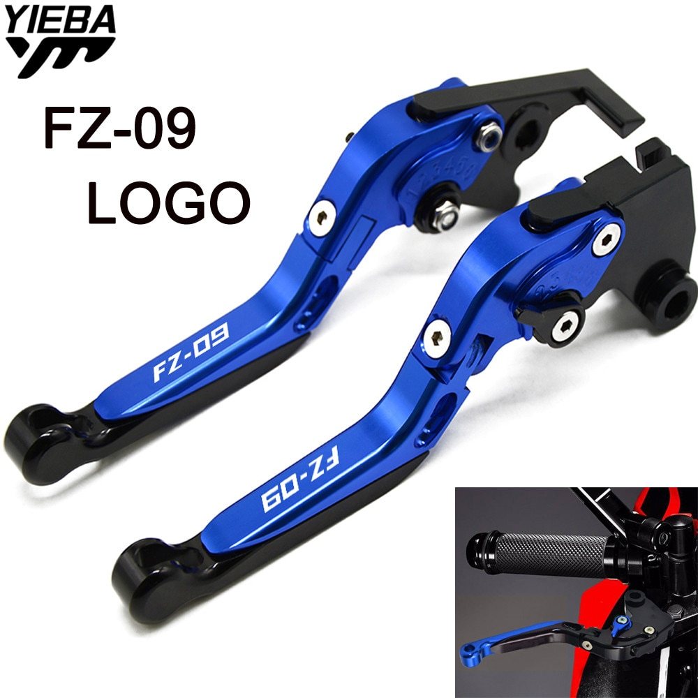 Motocicleta cnc alavancas de freio lidar com alavancas de embreagem do freio ajustável para yamaha FZ-09 MT-09/sr fz 09 fz09 mt09 mt 09 2014-2019