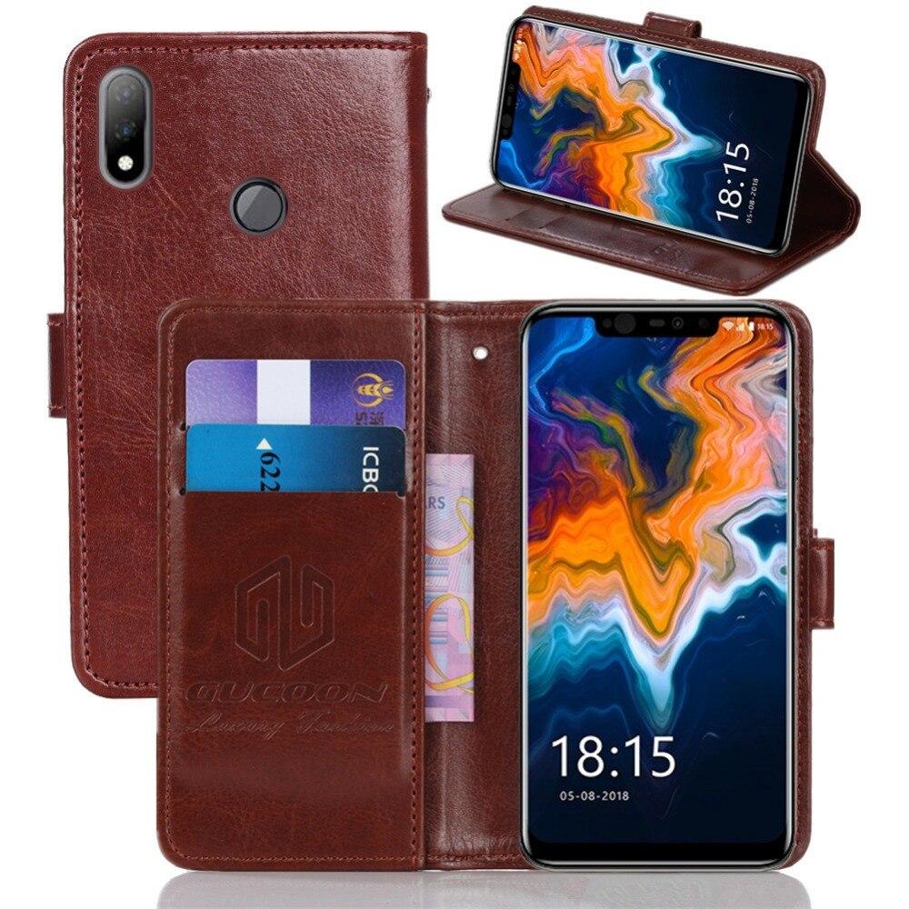 GUCOON Klassische Brieftasche Fall für BQ BQ-6200L Aurora Abdeckung PU Leder Flip Fall für BQ 6200L Aurora Telefon Tasche Schild