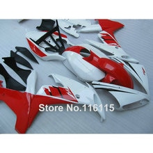 Kit de caronnages de moto ABS   Pour YAMAHA YZF R1 2004 2005 2006 rouge blanc noir, kit dinjection complète R1 04 05 06 CY6