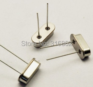 17.734MHZ 17.734M  Passive DIP crystal oscillator HC-49S 50PCS/LOT  Free Shipping Electronic Components kit