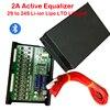 2A aktif ekolayzır Bluetooth ekran uygulaması 2 ~ 24S BMS Li-ion Lipo LTO Lifepo4 lityum Titanate pil paketi JK dengeleyici 8S 16S