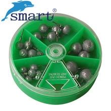 20 pièces 2.5g 3.5g 5g 10g 14g plomb poids pêche Pesca avec balle pivotante coup de goutte pour basse pêche accessoires outils Pesca