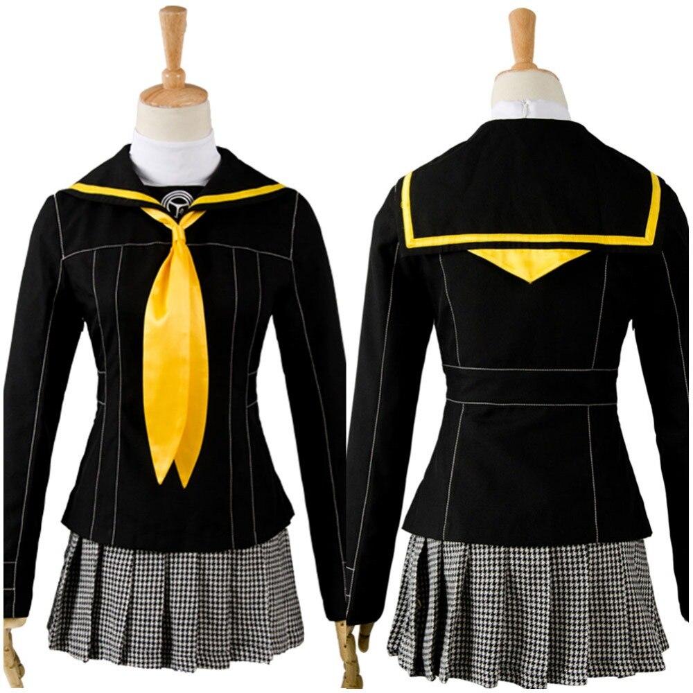 Shin Megami Tensei Costume Persona 4 Cosplay School Uniform Kujikawa Rise Cosplay Costume Full Sets Tailor Made