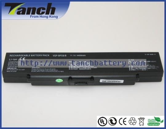 Baterías para portátil SONY VGP-BPS9/B/VGP-BPS9A VGP-BPS10 VAIO VGN-NR320 VGN-NR110 VGN-CR220E VGN-NR120E 11,1 V 6 celular