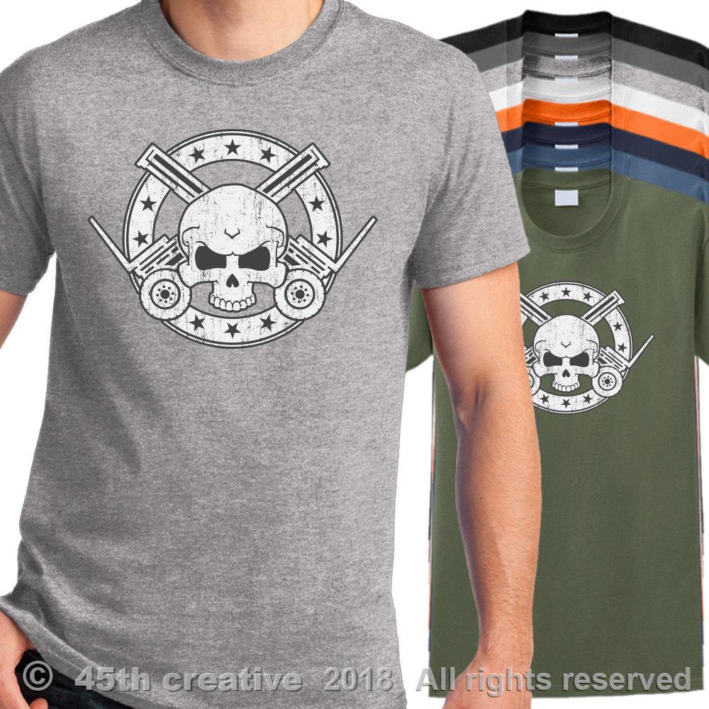 2019 nueva Camiseta de algodón Forklift Driver camiseta-operator forklift calavera camisa forklift camisa mechanic verano estilo camiseta