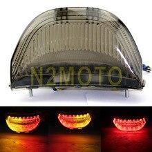 Smoke Led Brake Achterlicht Richtingaanwijzer Lamp Voor Honda CBR600RR 2003-2006 Cbr 1000RR 2004-2007 Amber /Rood Geïntegreerde Licht