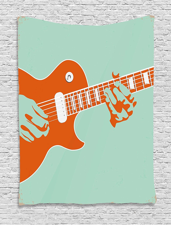 Гитарный гобелен креативный музыкальный инструмент для помех акустическое