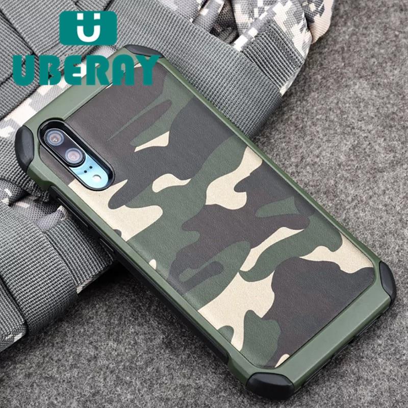 Камуфляжный чехол для телефона Huawei P20 Pro P20 Lite nova3e Y6 Y7 2018 Mate8 Mate 9 Mate 10 Lite P10 P9 P8 Lite 2017 Honor4A