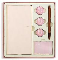 Pink Pocket Weekly Planner Notebook Set 88 Sheets 19.1*9.8cm DIY Plan Book Gift