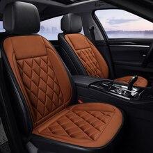 Coussin chauffant pour voiture   Pour hiver, pour voiture générale, électrique, coussin chauffant de siège, double, simple, pour voiture