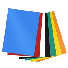 Lote de 7 pegatinas magnéticas coloridas, imán de goma, imán koelkast, suministros para enseñanza diy, pizarra de dibujo magnética etiqueta para mensaje