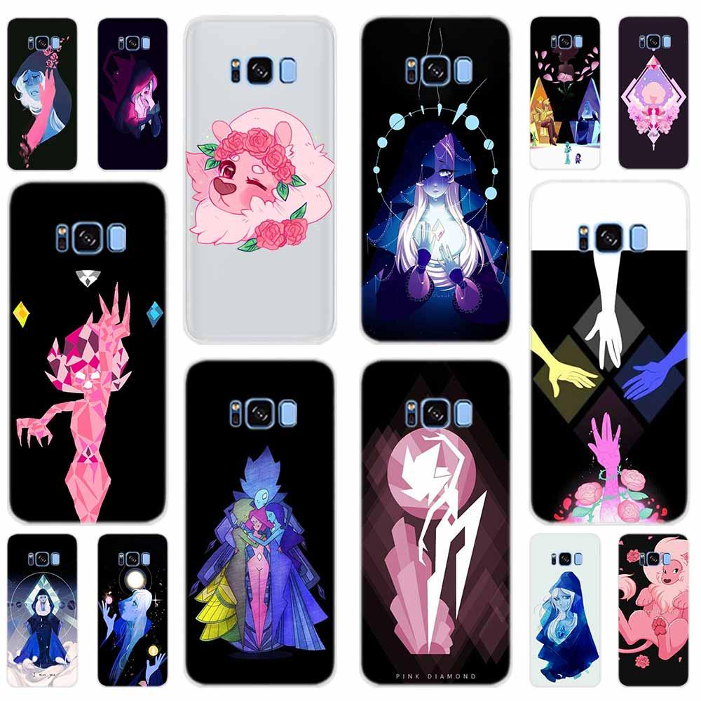 Steven Universe Pearl Garnet Soft Cover For Samsung Galaxy S6 S7 Edge S8 S9 S10 S11 S20 Plus E Note 10 Phone Case 5G