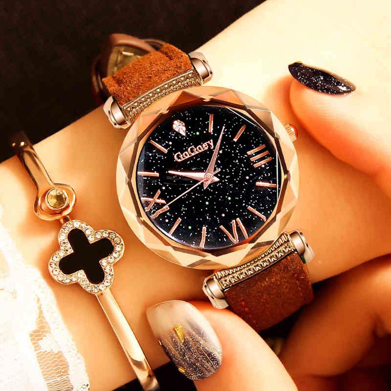 Fashion Crystal Luxury Brand Women watches 2018 Rose Gold ladies wrist watch quartz dress wristwatch montre femme reloj mujer
